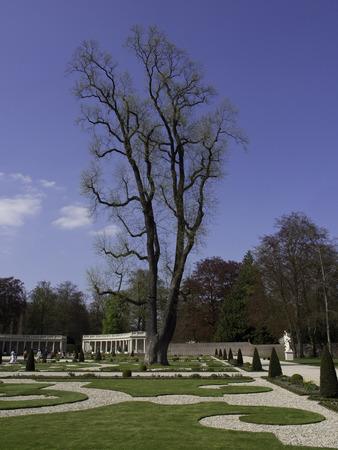 monarchy: park in hetloo palace Editorial