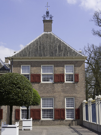 netherlands: palace in netherlands Editorial