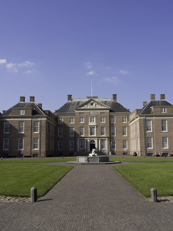 netherlands: palace, castle in netherlands Editorial