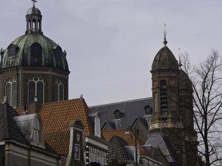 hoorn: hoorn church in netherlands