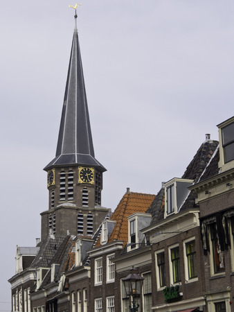hoorn: hoorn church in netherlands