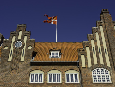 esbjerg: town hall Stock Photo