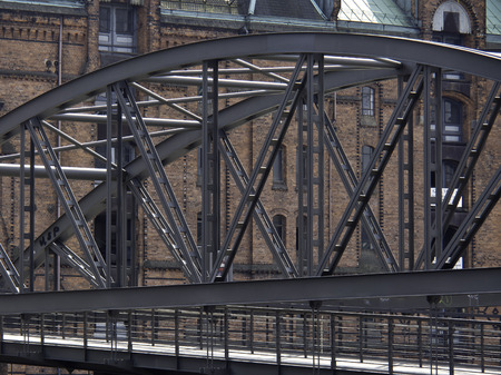 seaports: bridge Stock Photo