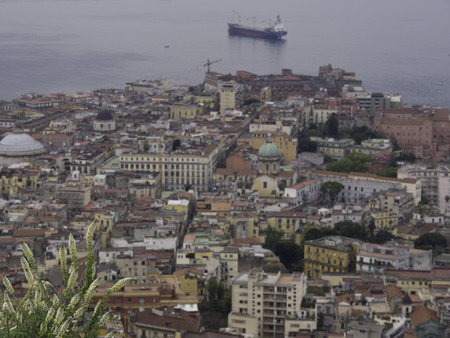 seaports: Naples Stock Photo