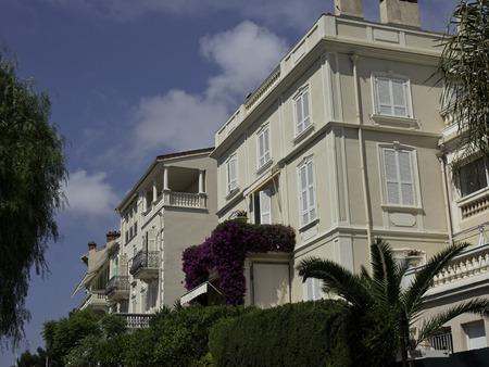 house in Monaco Stock Photo