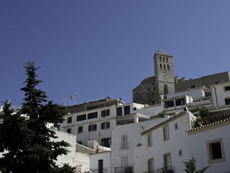 ibiza: ibiza houses view