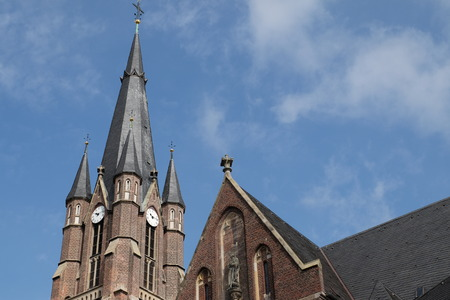 grune: church Stock Photo