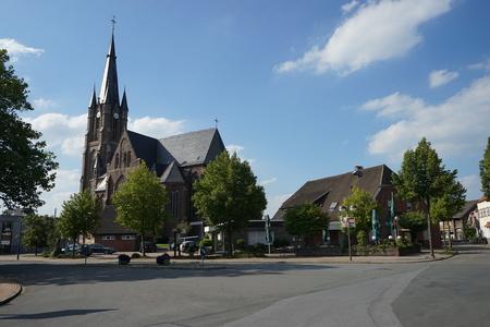steeples: church Stock Photo