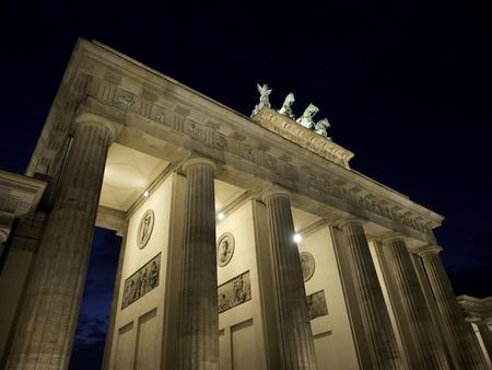 quadriga: Brandenburg Gate