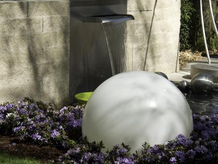 water garden: Water in the garden