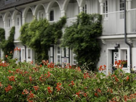 gable house: margartenhoehe Stock Photo