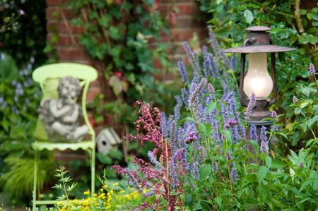 Beautiful garden Banque d'images