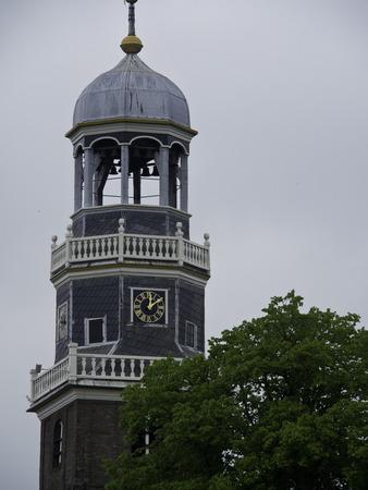 lemmer: steeple Stock Photo
