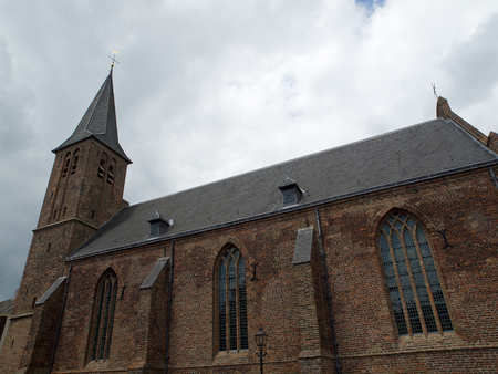ijssel: church Stock Photo