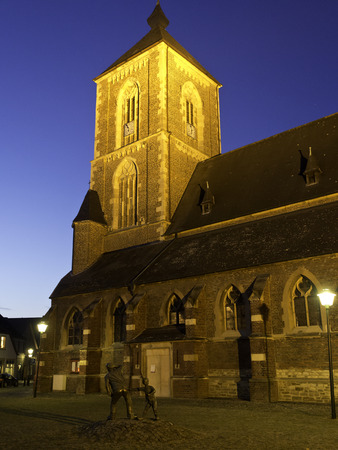steeples: Church in Muensterland