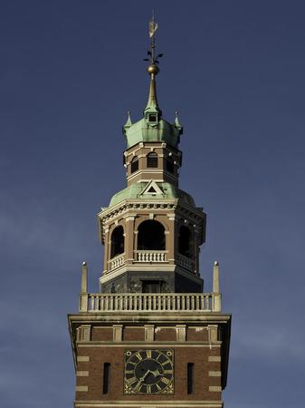 leer: tower in East Frisia