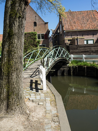holland: bridge in holland Stock Photo