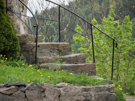 kristiansand: stairs Stock Photo