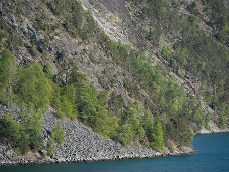 fiord: in a fiord Stock Photo
