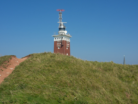 helgoland: tower on Helgoland