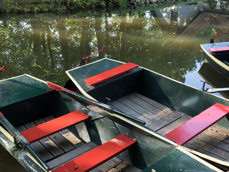 rowing boat: rowing boat Stock Photo