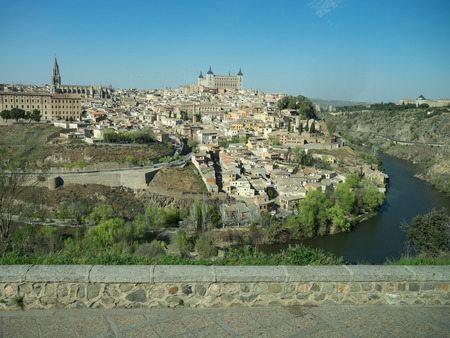 tagus: Tagus river in toledo Stock Photo