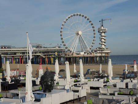 Beach of scheveningen