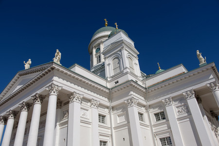 Helsinki church Stock Photo