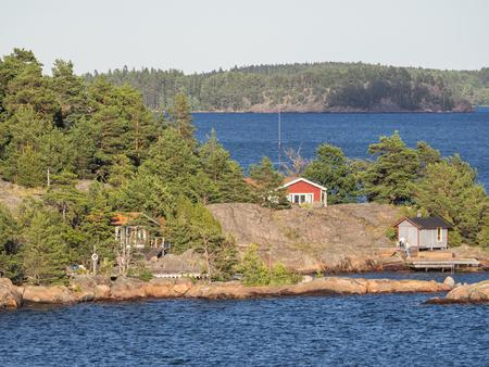 Idylle in sweden Stock Photo