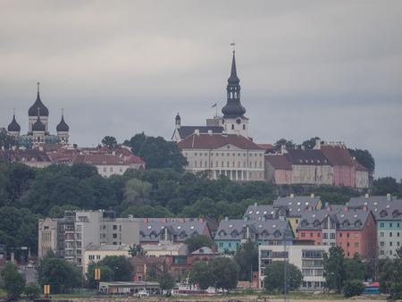 Tallinn in estonia Фото со стока