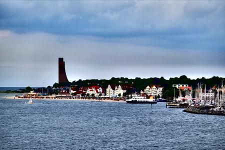 Baltic Sea landscape view