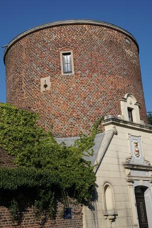 church steeple: tower