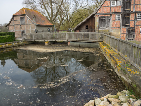 bridge at the watermill
