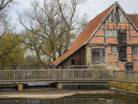 Watermill in Germany Stock Photo