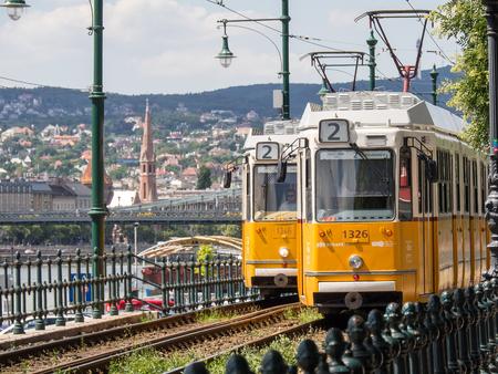 tram in Budapest 新闻类图片