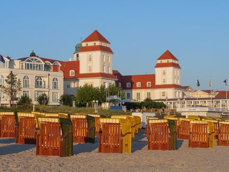 On the beach of the Baltic Sea