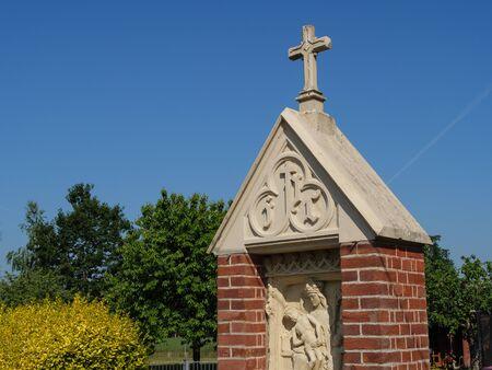Wayside shrine in Westphalia