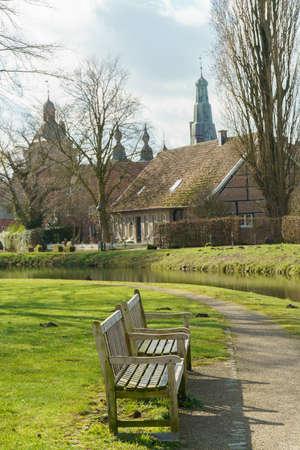 Village of Raesfeld in Westphalia