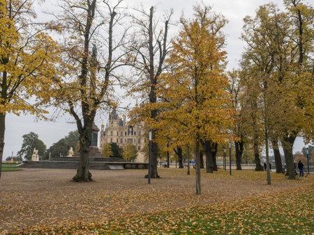 Schwerin City in Germany