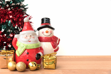 greeting season: this is season greeting for joyful and happiness, santa claus is coming in town, merry christmas