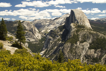 half dome: Half Dome and Valley Scenic