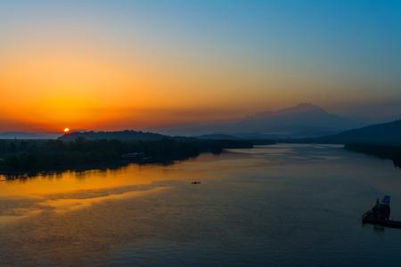 sunrise at mengkabong