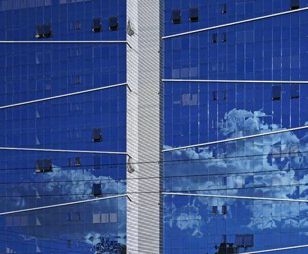 Commercial building facade in Belo Horizonte, Brazil