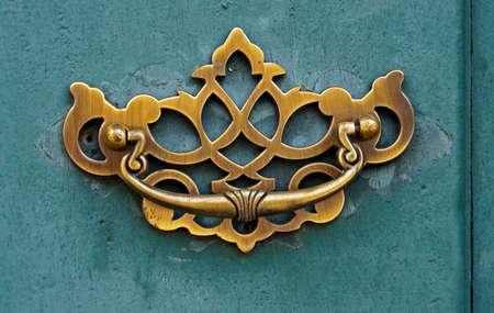 Ancient door detail, Ouro Preto, Minas Gerais, Brazil Reklamní fotografie