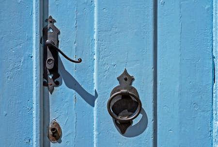 Ancient baroque door detail, Ouro Preto, Minas Gerais, Brazil Reklamní fotografie