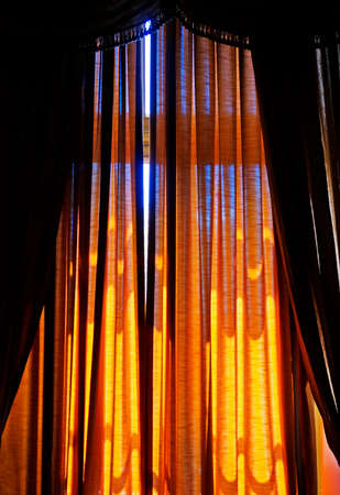 Window curtains background, Belo Horizonte, Brazil