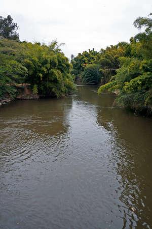 Rio das Mortes (The Death's River) in Tiradentes, Minas Gerais, Brazil Archivio Fotografico
