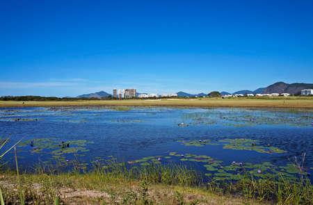Lake in Golf Course, Rio de Janeiro