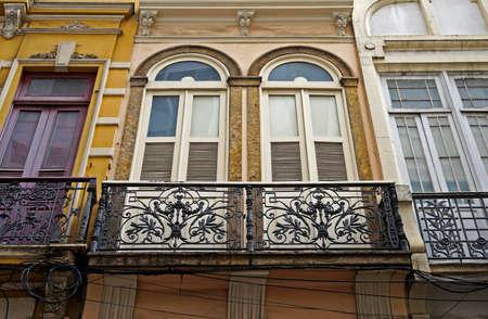 Ancient facade in downtown Rio de Janeiro