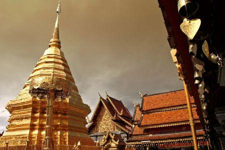 sainthood: Temple mountain chiang mai